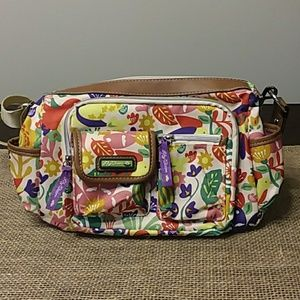 Lily Bloom Floral Crossbody Purse